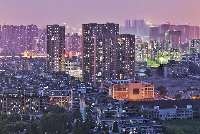 city-cityscape-skyscraper-skyline-metropolitan-area 图片素材