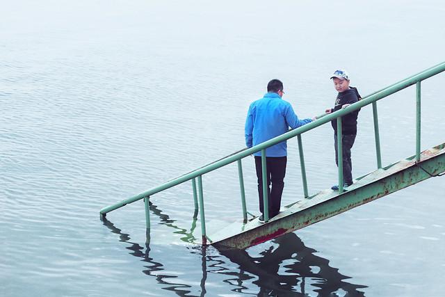 water-bridge-travel-lake-river picture material