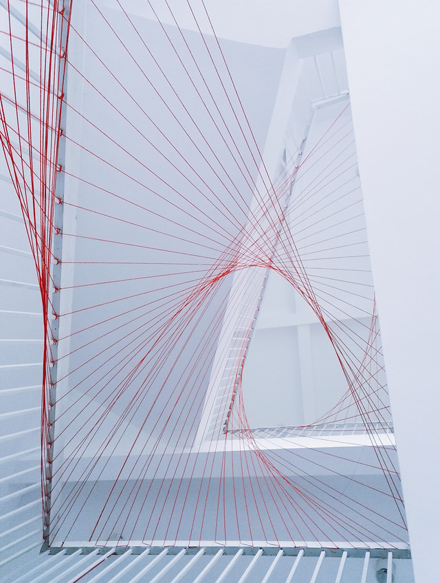 architecture-no-person-modern-cable-stayed-bridge-business picture material