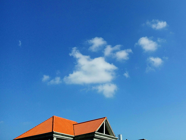 no-person-sky-cloud-blue-architecture picture material