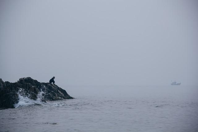 water-fog-landscape-sea-beach picture material