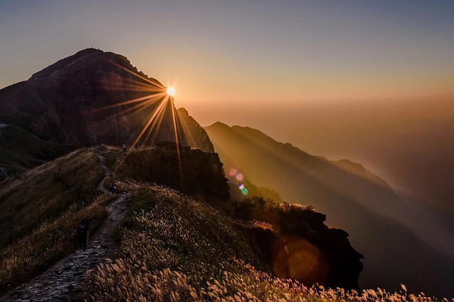sunset-dawn-no-person-mountain-sky 图片素材
