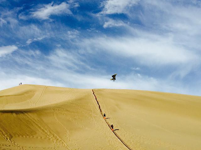 sand-desert-dune-adventure-sky picture material