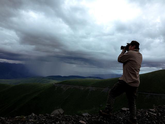 landscape-sky-mountain-sunset-cloud picture material
