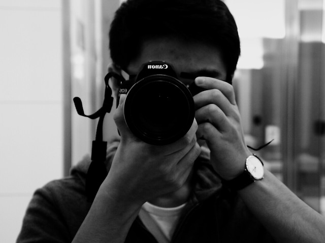 monochrome-lens-work-people-man picture material