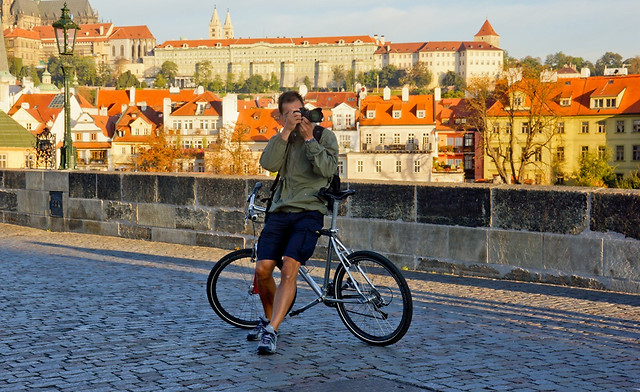land-vehicle-city-bicycle-street-travel picture material