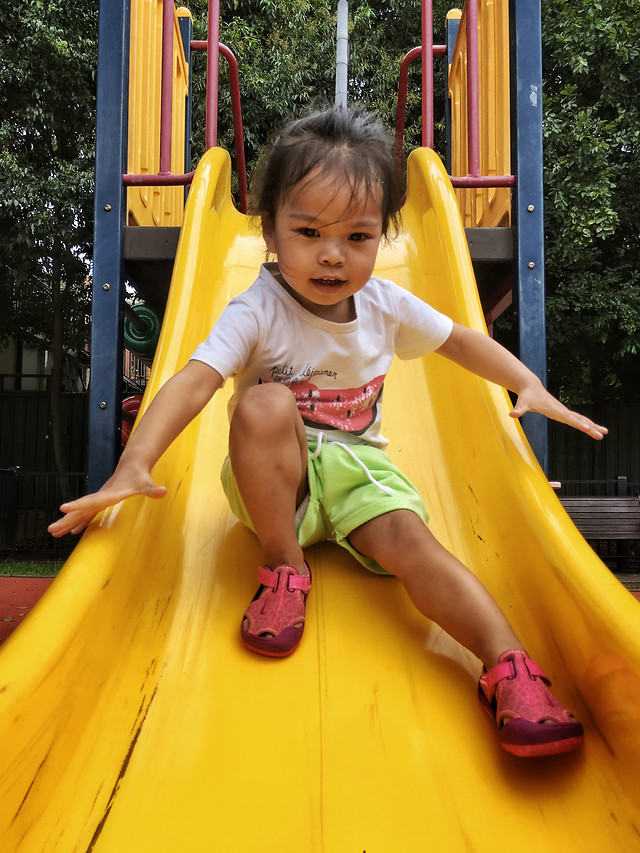 slide-child-playground-fun-swing 图片素材