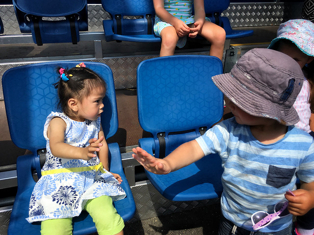 child-people-seat-baby-blue picture material