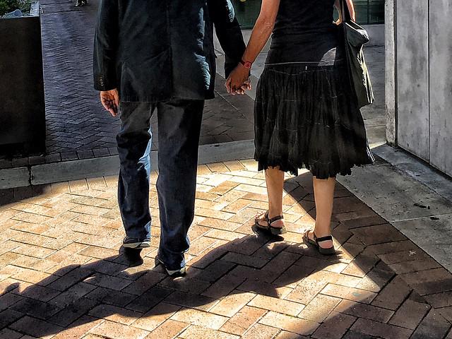 people-woman-footwear-man-street picture material