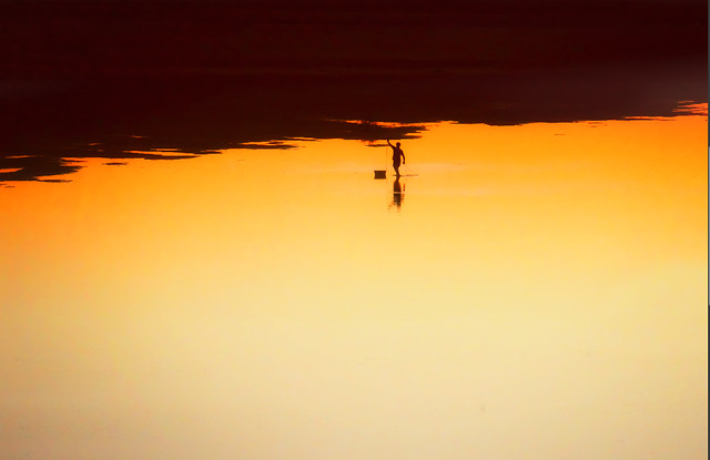 sunset-dawn-evening-backlit-beach picture material