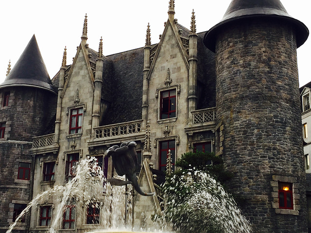 architecture-old-castle-travel-building picture material