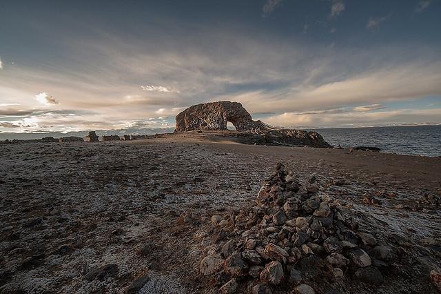 sea-water-beach-ocean-sunset picture material