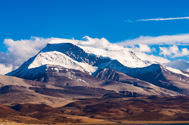 mountain-sky-snow-landscape-hill picture material