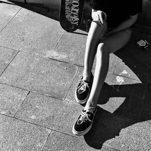 monochrome-street-people-footwear-sport picture material