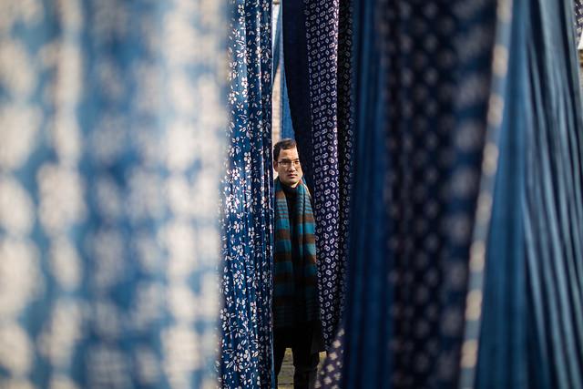 blue-wear-textile-fashion-business picture material