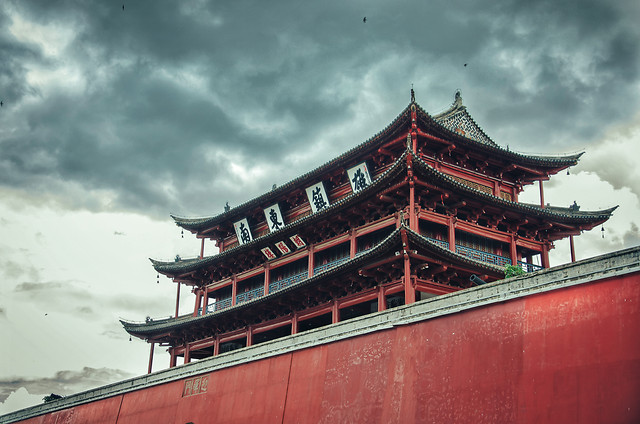 no-person-chinese-architecture-travel-temple-architecture picture material