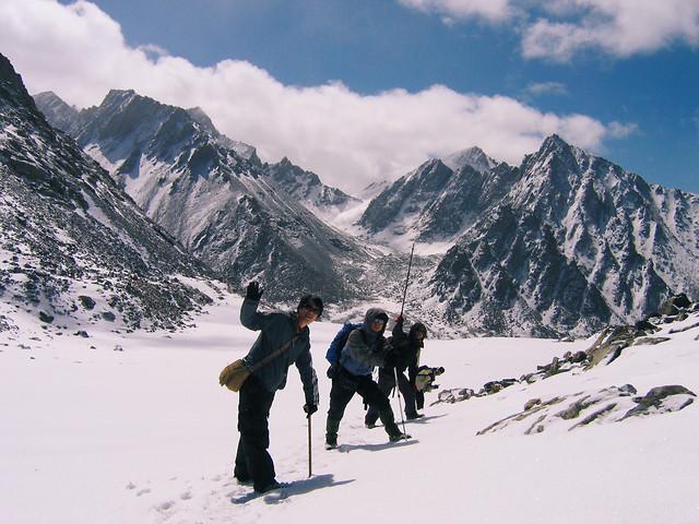 snow-mountain-winter-adventure-mountainous-landforms picture material