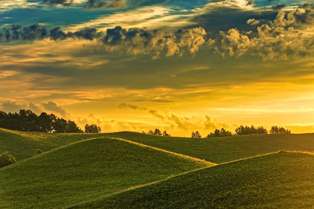 landscape-no-person-sunset-nature-countryside picture material