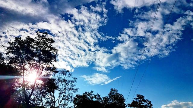 nature-sky-sun-cloud-fair-weather picture material