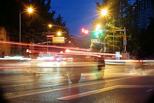traffic-street-blur-car-road 图片素材