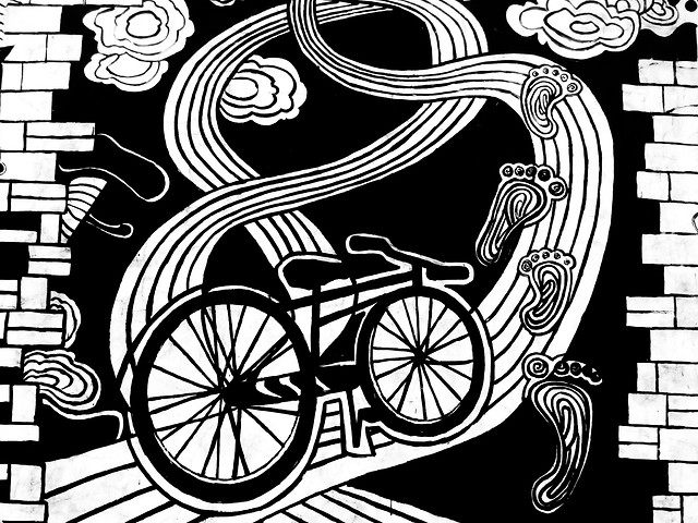 land-vehicle-illustration-vector-black-and-white-pattern picture material