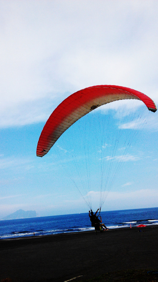paragliding-air-sports-sky-parachute-recreation picture material