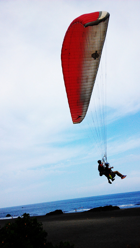 recreation-paragliding-air-sports-parachute-people picture material