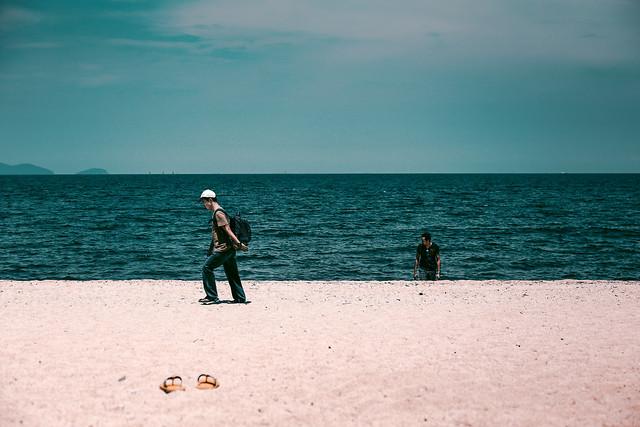 beach-sand-sea-water-ocean picture material