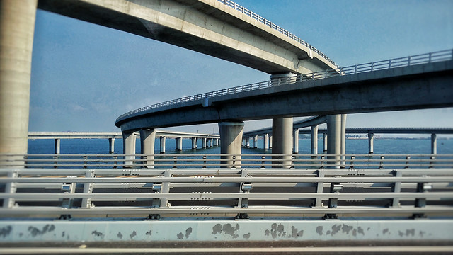 no-person-bridge-sky-transportation-system-architecture picture material