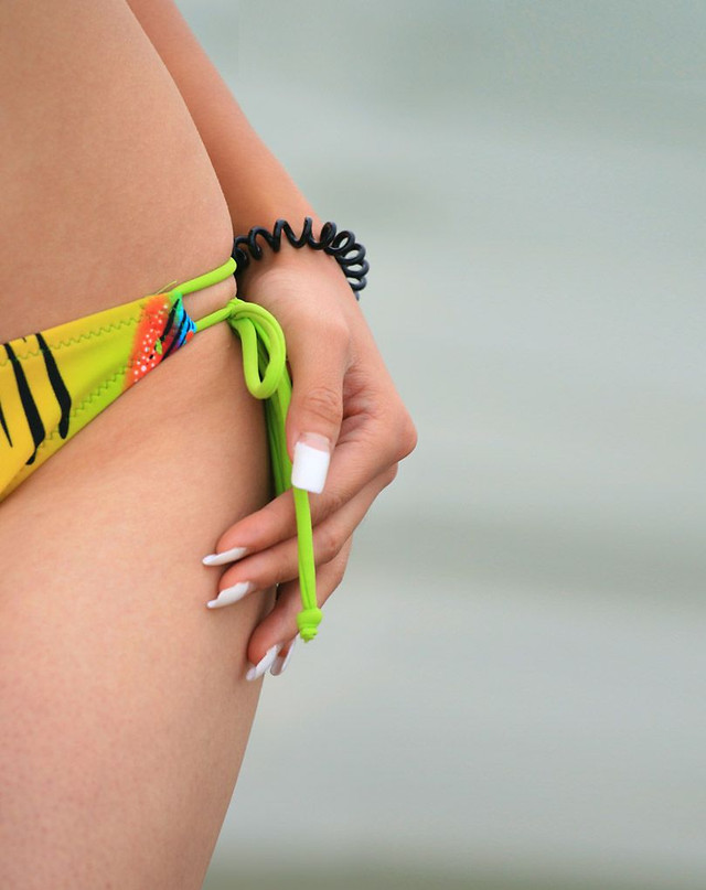 girl-woman-body-tape-people picture material