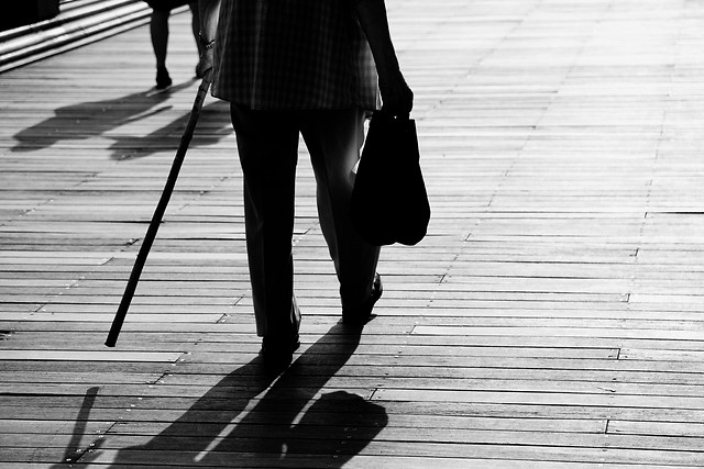 monochrome-street-people-footwear-walk picture material