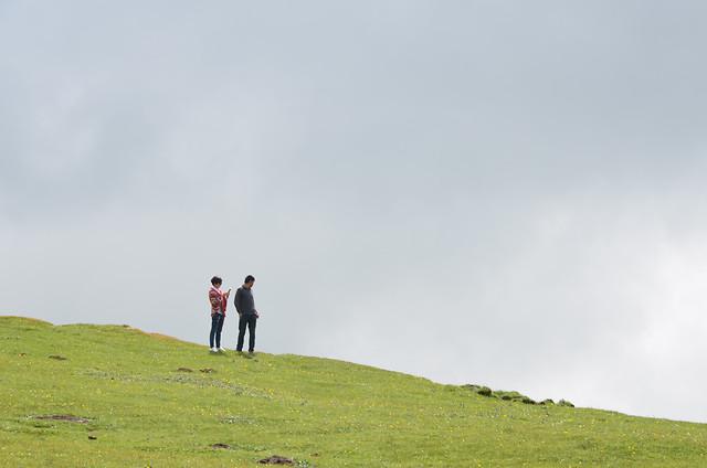landscape-grass-sky-outdoors-nature 图片素材
