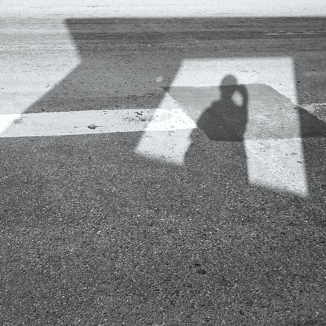 asphalt-monochrome-road-street-people picture material