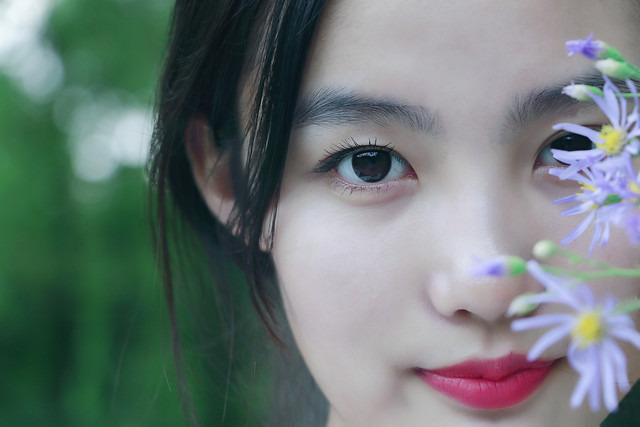 woman-nature-girl-face-portrait 图片素材