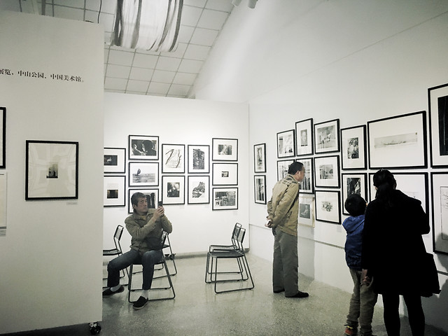 indoors-exhibition-room-people-business picture material