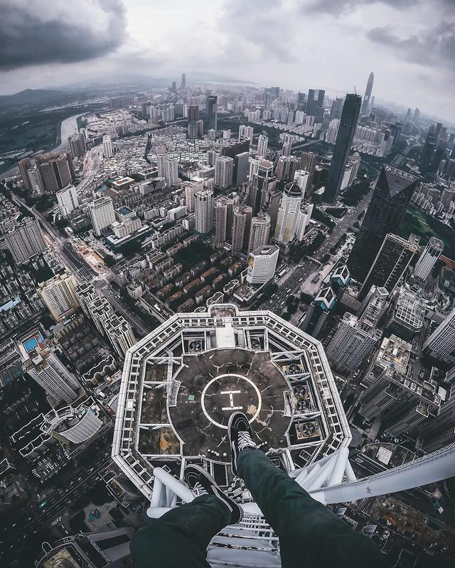 city-aerial-cityscape-skyline-skyscraper picture material