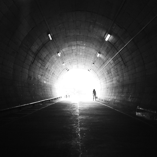 tunnel-subway-system-light-dark-perspective picture material