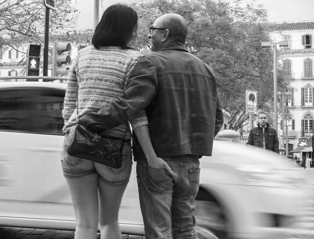 street-people-man-two-adult picture material