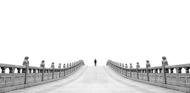architecture-black-white-no-person-landmark-bridge 图片素材
