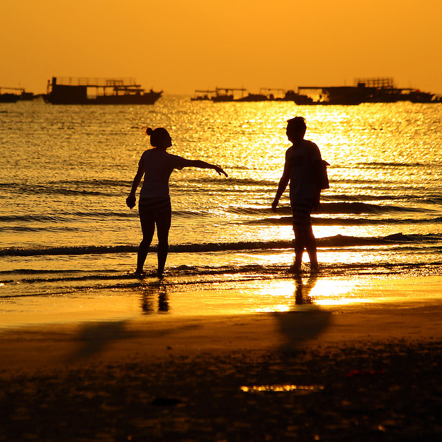 silhouette-gold-photography-color-scenery picture material