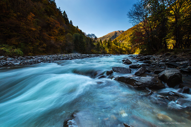 water-river-waterfall-fall-stream picture material