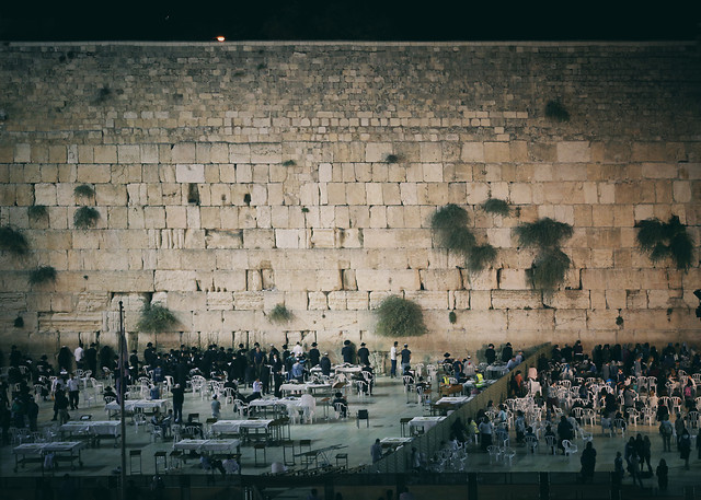 wall-architecture-city-western-wall-autumn picture material