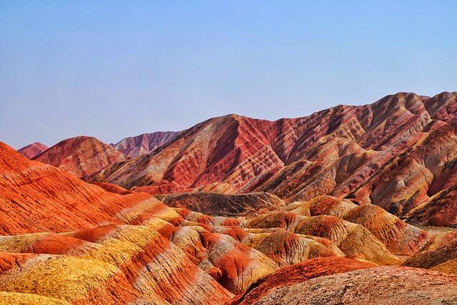 landscape-badlands-nature-travel-desert picture material