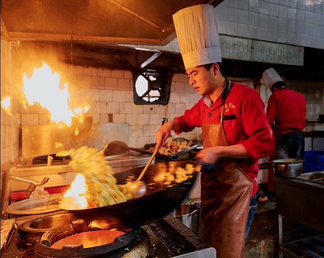 flame-chef-cooking-people-stove 图片素材