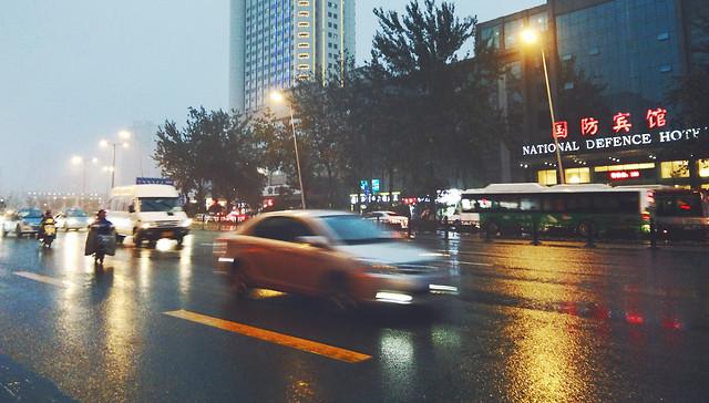 road-car-street-blur-traffic 图片素材