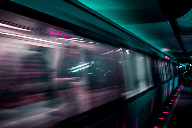 blur-subway-system-motion-fast-tunnel picture material