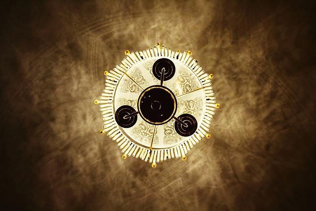 desktop-clock-gold-time-vintage picture material