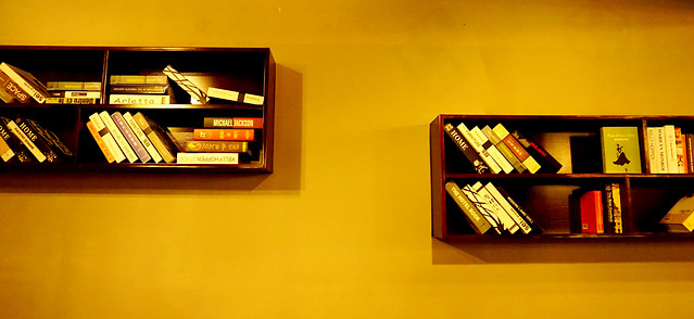 no-person-library-yellow-art-book-bindings picture material