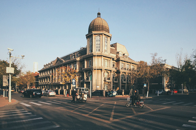 street-city-architecture-travel-building picture material