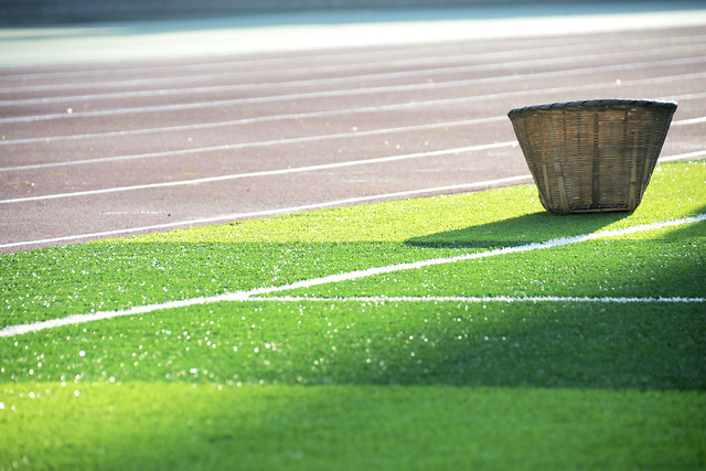 football-no-person-soccer-green-grass picture material